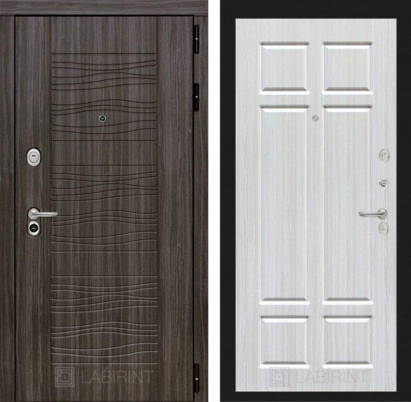 Стальная дверь ЛАБИРИНТ SCANDI - 08 - Кристалл вуд