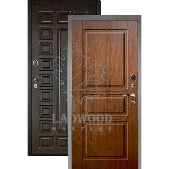 Входная дверь АРГУС ЛЮКС АС 2П САБИНА ДУБ РУСТИКАЛЬНЫЙ