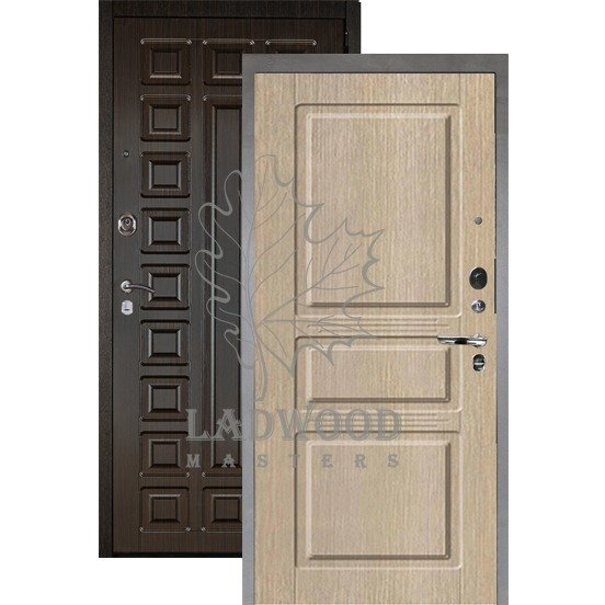Входная дверь АРГУС ЛЮКС АС 2П САБИНА КАПУЧИНО