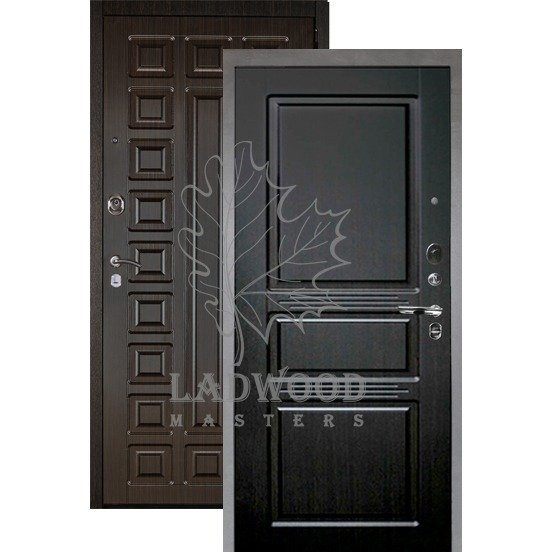 Входная дверь АРГУС ЛЮКС АС 2П САБИНА ВЕНГЕ
