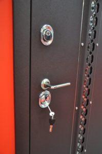 Дверь Аргус с броненакладкой